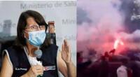 Pilar Mazzetti lanza advertencia a los hinchas de la U
