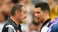 Cristiano Ronaldo se quedaría en Juventus tras la salida de Sarri.