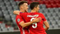 Bayern aseguró su clasificación a cuartos de final.