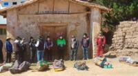 Triste final de agricultores de Cusco