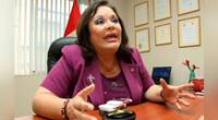 Ministra de la Mujer mostró datos sobre casos de violaciones en el Perú