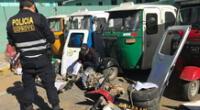 Condenan a una organización criminal dedicaba al robo de mototaxis en Cajamarca