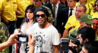 Ronaldinho saldría en libertad a fines de este mes.
