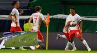 Atlético de Madrid y RB Leipzig protagonizaron un intenso partido por Champions League.