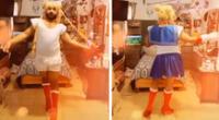 Hombre muestra cómo se transforma en Sailor Moon