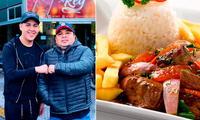 """El popular """"Cuchi"""" sigue preparando comida peruana en Argentina."""