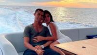 Cristiano y Georgina disfrutan de las vacaciones en un yate.