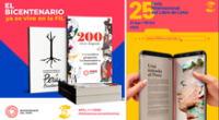Feria Internacional del Libro de Lima del viernes 21 de agosto hasta el 6 de setiembre.
