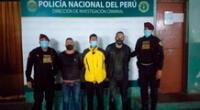 Los detenidos por el Escuadrón de Emergencia
