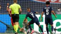 Mbappé y el mano a mano que perdió ante Neuer.