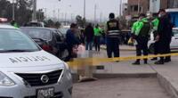 Sicarios asesinan a un hombre de 9 balazos