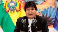 Evo Morales es demandado por haber tenido una supuesta relación con una menor