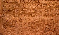 Los jeroglíficos fueron un sistema de escritura inventado por los antiguos egipcios.