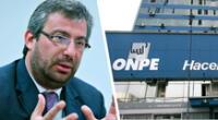 Piero Corvetto fue designado como nuevo jefe de la ONPE.