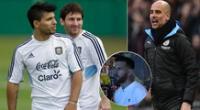 Lionel Messi despertó el interés de Manchester City.