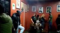 Fiesta clandestina en bar de Santa Anita.