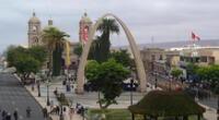Tacna, ciudad heroica del Perú.