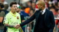 Messi se juntaría con Guardiola.