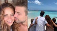Shakira y Gerard Piqué comparten tiernos momentos de felicidad en Instagram
