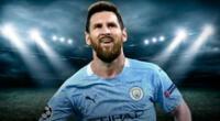 Messi al City, es el pedido de los hinchas ingleses.