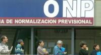 Congreso recibió proyecto de ley del Ejecutivo sobre reforma de sistema de pensiones.