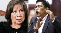 Congresista de Fuerza Popular, Martha Chávez, retiró lo expresado respecto a Vicente Zeballos.