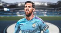 Manchester City tendría a Messi para la temporada 2020.