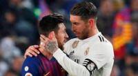 Sergio Ramos habló sobre la salida de Messi.