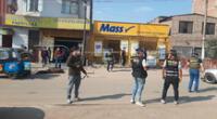 PNP frustra asalto en tienda Mass