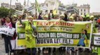 Pleno Mujer: Congreso aprueba Ley de la Trabajadora del Hogar.