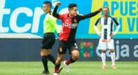 Melgar gana 1-0 a Alianza Lima.