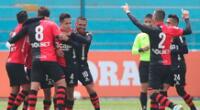Melgar domina a Alianza Lima y gana 1-0 al final del primer tiempo.