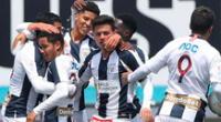 Alianza Lima puso su primer gol a los 85 del partido.