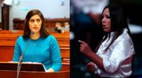 Congresista García confronta nuevamente a ministra Alva