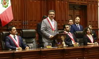 Manuel Merino de Lama se pronunció tras presentación de María Antonieta Alva en el Congreso.