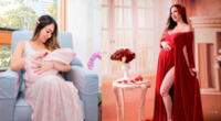 Melissa Loza comparte tierna fotografías junto a su bebé