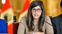 Bancadas presentan moción de censura contra ministra María Antonieta Alva.