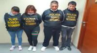 Estarían implicados en otros hurtos a viviendas de Lima Norte