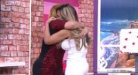 Susy Díaz y Florcita Polo tiene emotivo reencuentro.