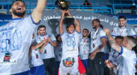 André Carrillo logra su primer título de la Liga saudí con Al Hilal | Foto: @Alhilal_EN