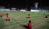 Selección de Hockey entrenó de forma presencial en Videna