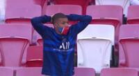 Mbappé no pudo jugar por dar positivo al COVID-19