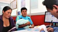 Reniec: ya no se tendrá que llevar a los recién nacidos para tramitar su primer DNI.