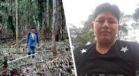 En el 2017 fue atacado por un grupo de seis personas con un machete. A la izquierda, su padre, Demetrio Pacheco.