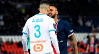 Neymar vs. Álvaro: el duelo siguió en redes.