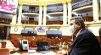 Congreso discute moción de censura contra María Antonieta Alva.