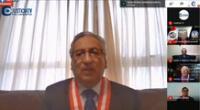 Presidente del Poder Judicial, inauguró Mesa de Partes Electrónica de Lima Sur