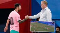 Lionel Messi vuelve a marcar con Barcelona.