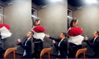 La modelo Olinda Castañeda dio detalles de su relación con Christian Marcial, y sorprendió al mostrar imágenes de cómo se comprometieron.
