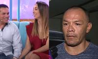 Christian Marcial sorprendió al dirigirse a Jackson Mora tras haberse comprometido con Olinda Castañeda, y mostrarle su aprecio.